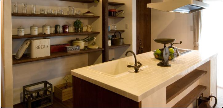 オリジナルキッチン&洗面台の画像
